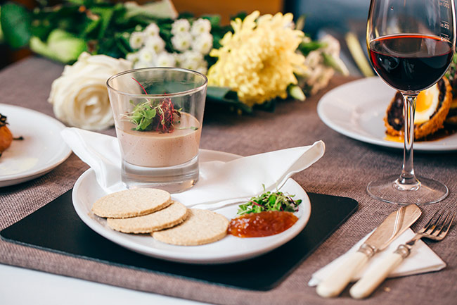 Star-Garter-Starter-Pate Food Gallery